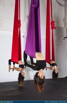 Aerial Yoga uploaded by Rubi