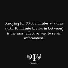 Yeah, but that would be the responsible way to study... I prefer to cram as much info in the ten mins before the test ;) ...just sayin'