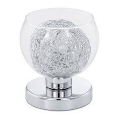 Stolní lampa EGLO EG93058 | Uni-Svitidla.cz Moderní pokojová #lampička vhodná jako lokální osvětlení interiérových prostor #modern, #lamp, #table, #light, #lampa, #lampy, #lampičky, #stolní, #stolnílampy, #room, #bathroom, #livingroom