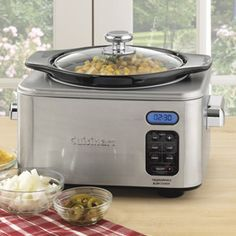 Shop Cuisinart Round Slow Cooker at CHEFS.