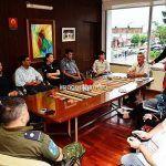 Bella Vista: Chavez se reunió con los nuevos comisarios departamentales
