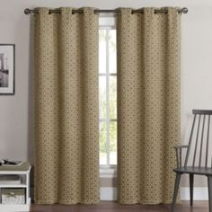 VCNY+2-pack+Geometric+Blackout+Curtains