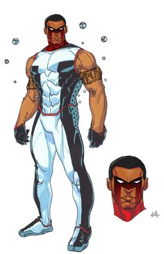 Mr. Terrific Redesign | Cully Hamner
