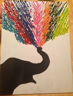 how to make paint out of crayons