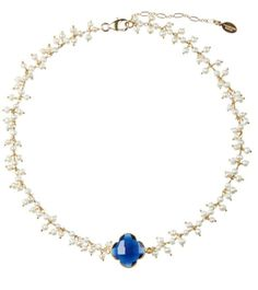 Gorgeous by Valentine Rouge now available in our store and online! Navy Necklace, Turquoise Necklace, Venetian Glass, Glitz And Glam, Austrian Crystal, Fresh Water, Baroque, 18k Gold, Feminine