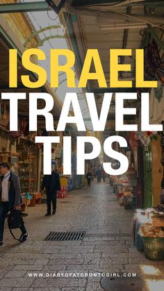 If you're planning a visit to Israel, here are things you should know and keep in mind during your trip!