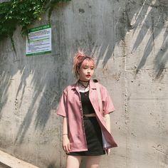 Summer Look #Kdaily #Korean Fashion #Ulzzang #hyeji_al