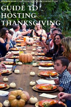 This article gives a broad overview of hosting Thanksgiving, deciding on the Thanksgiving dinner menu, setting the table, and inviting the guests. Traditional Thanksgiving Menu, Thanksgiving Dinner Menu, Hosting Thanksgiving, Thanksgiving Celebration, Thanksgiving Traditions, Family Thanksgiving, Thanksgiving Side Dishes, Thanksgiving Recipes, Holiday Recipes