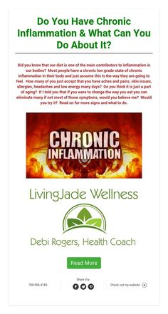 Do You Have Chronic Inflammation