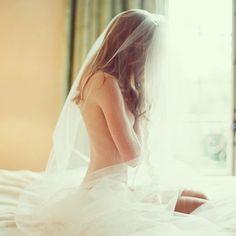 Bridal pics for husband