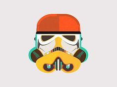Dribbble - Stormtrooper animation by Ema Rogobete