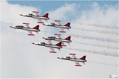 Turkish Stars - Patrouille de Suisse/France - SPOTTING MILITARE