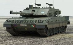 """bmashina: """" C1 """"Ariete"""" Italian tank Design work on the new main battle tank to 3rd generation C1 """"Ariete"""", originally called OF-45, began with 1984, a prerequisite of the order was to install 120-mm guns, a unified nomenclature ammunition with other..."""