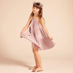Beneras Dress - Mauve - Girls Partywear - Girls 2-15YRS