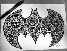 Mandala + Batman