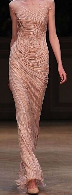Ideas For Fashion Art Design Clothing Texture Couture Fashion, Fashion Art, Runway Fashion, Fashion Show, Fashion Design, Fashion Outfits, High Fashion, Fashion Trends, Beautiful Gowns