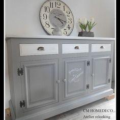 Relooking enfilade pinteres for Vieux meubles restaures