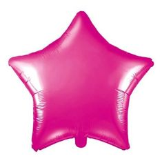 Metallic Dark Pink Star Foil Balloon - 19 inches This large metallic dark pink foil balloon will add a dramatic splash of colour to any party. Perfect balloon for our modern girl football party, princess party or hen party. Girl Football, Teenage Parties, London With Kids, Aloha Party, Crown Party, Pamper Party, Flamingo Party, Pink Stars, Foil Balloons
