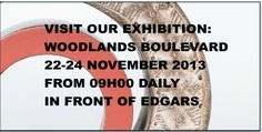 We are exhibiting at Woodlands Boulevard shopping mall, Pretoria, from November Come say hi!
