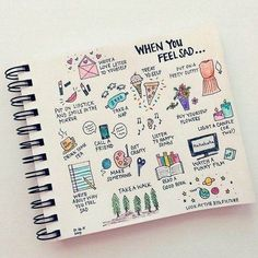 Really cute planner doodles - I'll be adding some of these to my journal! Wreck This Journal, My Journal, Journal Pages, Journal Diary, Scrapbook Journal, Planner Bullet Journal, Bullet Journal Inspiration, Bullet Journals, Journal Ideas Tumblr