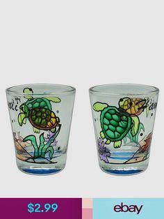 Hawaiian Gifts Shot Glasses Collectibles