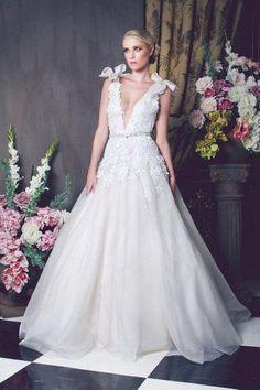 Ball Gown Wedding Dresses : [EXCLUSIVE FIRST LOOK] Kobus Dippenaar Anna Georgina 2014 Bridal Collection  Jo
