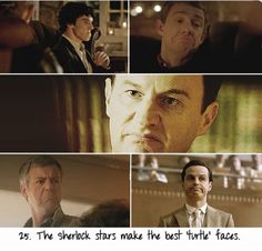 "The Sherlock stars make the best ""turtle"" faces."