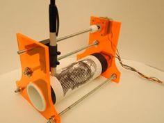 Build a Gonzo Dot-Matrix Printer That Creates Pointillist Works of Art - Popular Mechanics Arduino Cnc, Cnc Router, Cnc Lathe, Hobby Electronics, Electronics Projects, Xy Plotter, Alcohol Dispenser, Drawing Machine, Diy 3d
