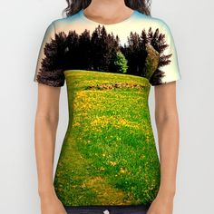 Buy Outdoors in sunny spring All Over Print Shirt by Patrick Jobst. Worldwide shipping available at Society6.com. Just one of millions of high quality products available. American Apparel, Printed Shirts, Sunnies, Outdoors, Unisex, Spring, Cotton, Mens Tops, T Shirt