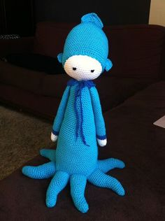 OLEG the octopus made by uphaia / crochet pattern by lalylala