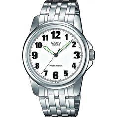 Ceas barbatesc Casio Clasic MTP-1260PD-7B Casio Quartz, Casio Edifice, Rolex Watches, Watches For Men, G Shock, Casio Watch, Omega Watch, Brass, The Originals