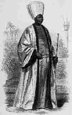 The Chief Black Eunuch.The highest ranking of the black eunuchs. Black eunuchs began rising to influence during the reign of Süleyman, The Magnificent; and from 1574 until 1908, some of the most powerful men in the Empire, the Chief Black Eunuchs, were African.