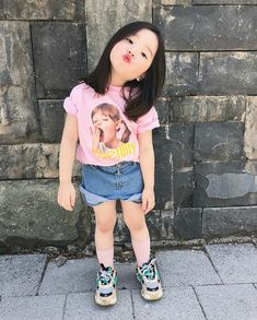 Donde la familia Jeon conformada por Jeon JungKook y Park JiMin viven… # Fanfic # amreading # books # wattpad Cute Asian Babies, Korean Babies, Cute Korean Girl, Cute Babies, Cute Baby Girl Pictures, Baby Photos, Cute Little Baby, Little Babies, Fashion Kids