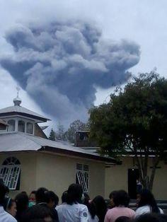 Sinabung vulcano #Indonesia