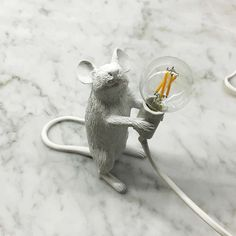 Seletti mouse lamp, just to cute. www.funfetti.nl