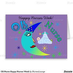 Ob nurse happy nurses week yellow greeting card ob nurse gifts ob nurse happy nurses week greeting card m4hsunfo