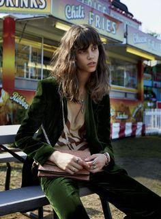 Elle US September 2014 | Antonina Petkovic by Yelena Yemchuk [Editorial]