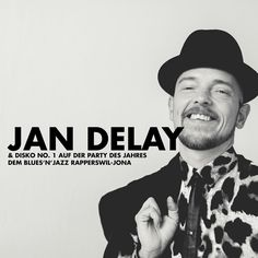 Jan Delay, Jazz, Party, Blues, Events, Fashion, Moda, La Mode, Jazz Music