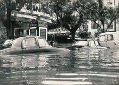 Após o Claude ter seguido o seu percurso Sudeste, a área metropolitana de Lourenço Marques ficou desvastada pelos efeitos do vento e da água...