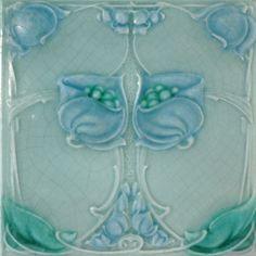 My tile collection Archives - Art Nouveau Tiles Antique Tiles, Vintage Tile, Vintage Art, Art Nouveau Tiles, Art Nouveau Design, Azulejos Art Nouveau, Pottery Houses, Art Nouveau Pattern, Arts And Crafts Movement