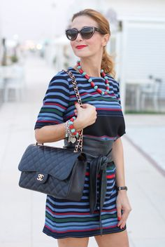 Stripes and Chanel