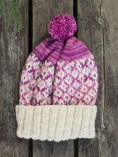 Virkattu tytön Gifu-pipo myboshi | Novita knits