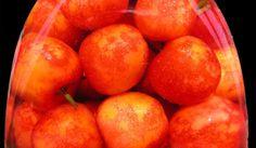 Ciliegie sotto spirito: frutta d'estate anche con la neve