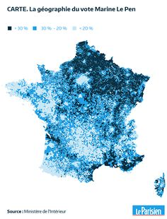 Carte Presidentielle Une Commune Sur Deux A Place Le Pen En Tete