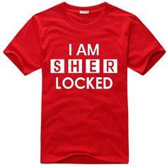 Sherlock Holmes I am sherlock short sleeve t shirt-Tshirtsky