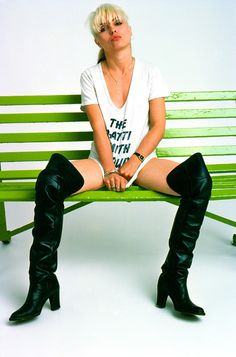 Debbie Harry Photo by Brian Duffy