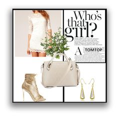 """TOMTOP 22"" by christine-792 ❤ liked on Polyvore featuring Gianvito Rossi and Diane James"
