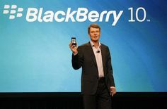 The chief executive of Research In Motion (TSX:RIM) is giving developers their first glimpse of BlackBerry's new operating system.    Thorsten Heins unveiled the BlackBerry 10 OS in its beta version Tuesday at the company's annual conference. (...more)