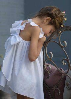 Mandil Blanco | No Sin Valentina - Love the clothes by No Sin Valentina