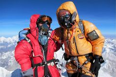 Tamae Watanabe, reached the summit of the world's tallest mountain this morning. The last time she was crowned the oldest woman to climb Everest was 10 years ago. Summit Everest, Monte Everest, Climbing Everest, Down Suit, Oxygen Mask, Sacred Mountain, Mountain Climbing, Bhutan, Top Of The World